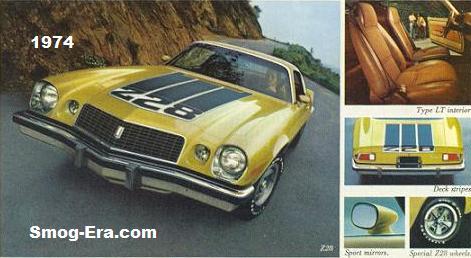 chevy camaro 1974