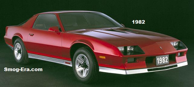1982 Chevrolet Camaro Z28. W82HV_CH003  (United States)