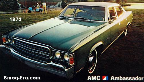 amc ambassador 1973