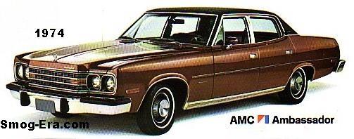 amc ambassador 1974