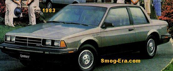buick century 1983