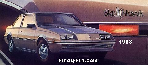buick skyhawk 1983