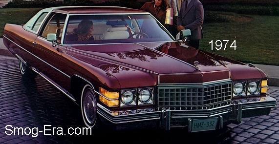 cadillac coupe deville 1974