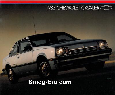 chevy cavalier 1983