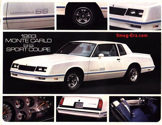 chevy monte carlo ss 1983