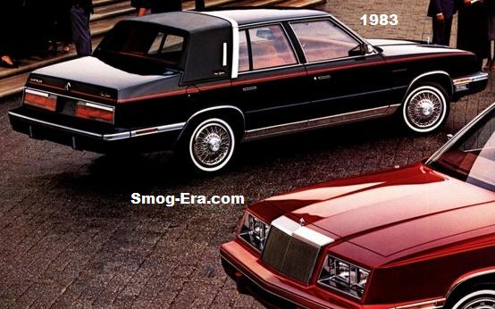 chrysler new yorker 1983