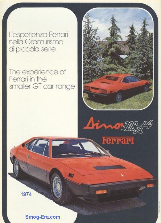 dino 308gt4 1974