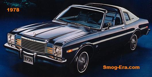 Dodge Aspen - Smog-Era.com 70s 80s Cars