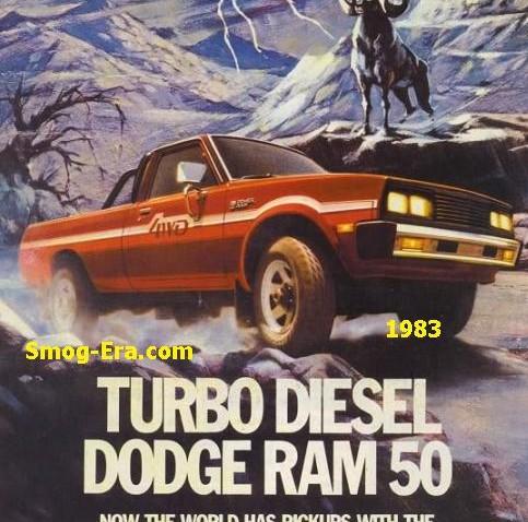 dodge d50 1983