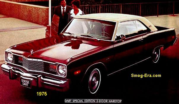 Dodge Dart 1975 Smog Era Com 70s 80s Cars
