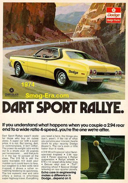 dodge dart sport 1974