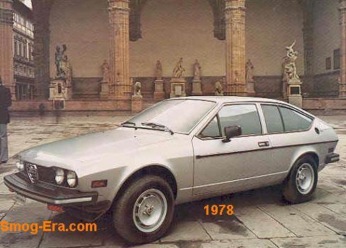 alfa romeo sprint veloce 1978