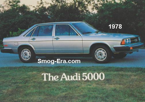 audi 5000 1978