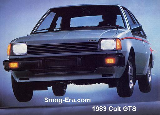 dodge colt hatchback 1983