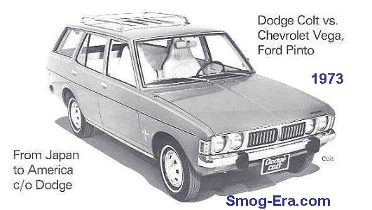 dodge colt wagon 1973