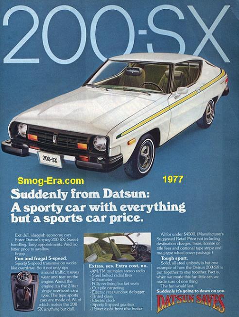 datsun 200sx 1977