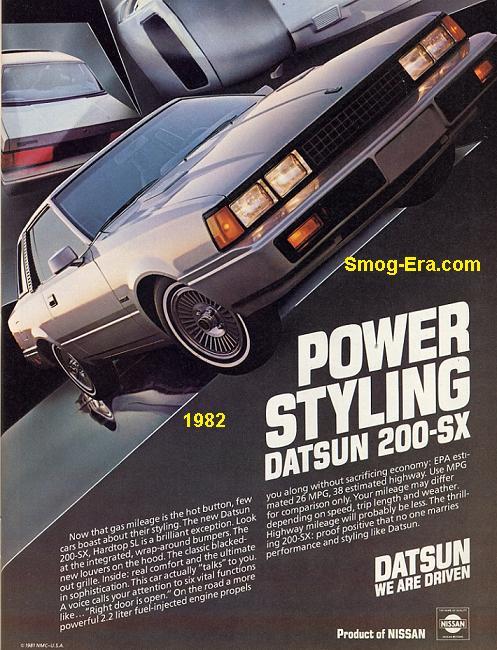 datsun 200sx 1982