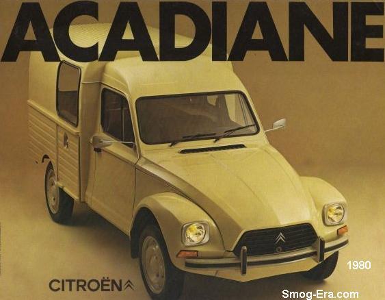 citroen acadiane 1980