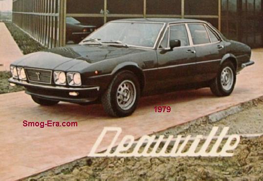 detomaso deauville 1979