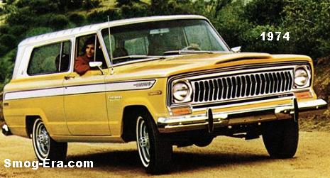 jeep cherokee 1974