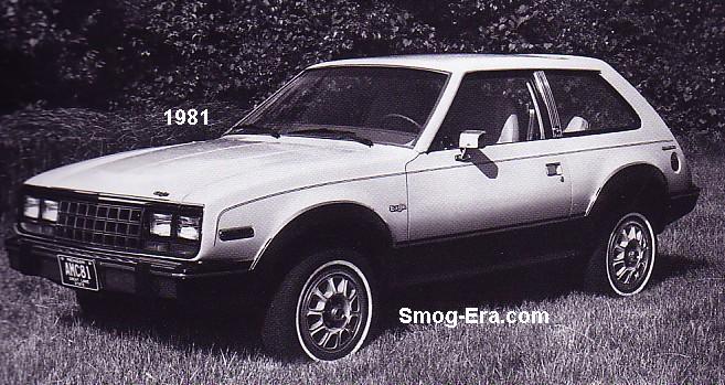 amc eagle 1981